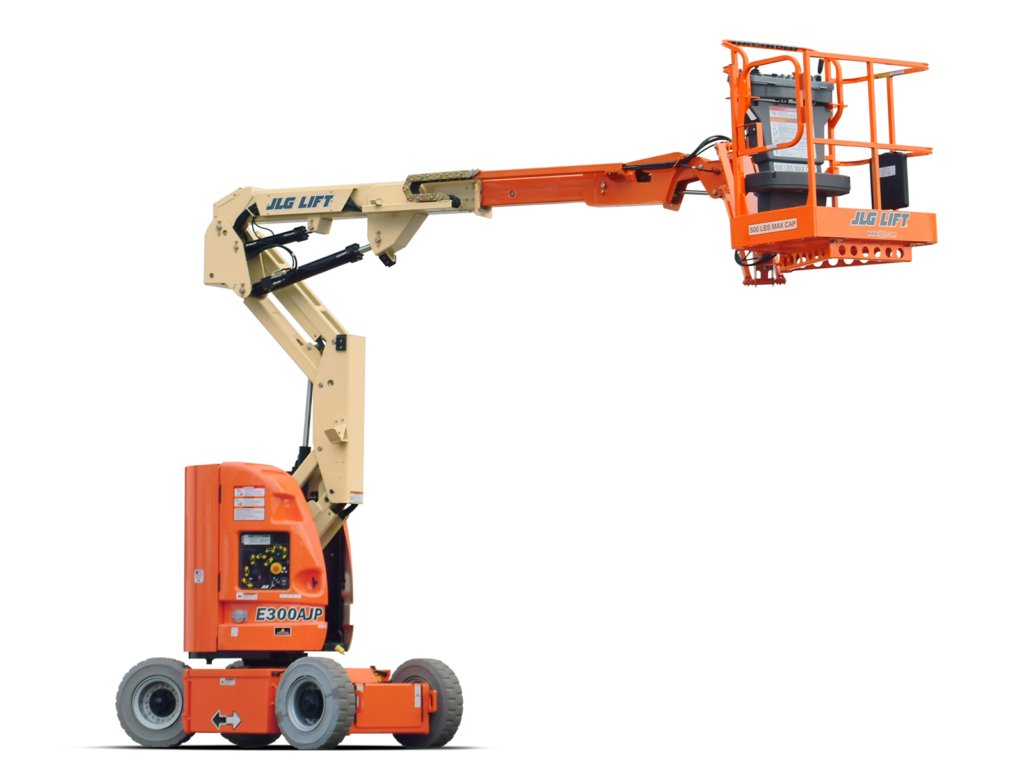 Electric & Hyrbid Boom lifts
