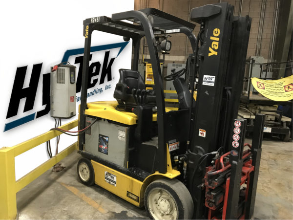 2014 Yale ERC060VG Class 1 Electric Forklift with Sideshifter