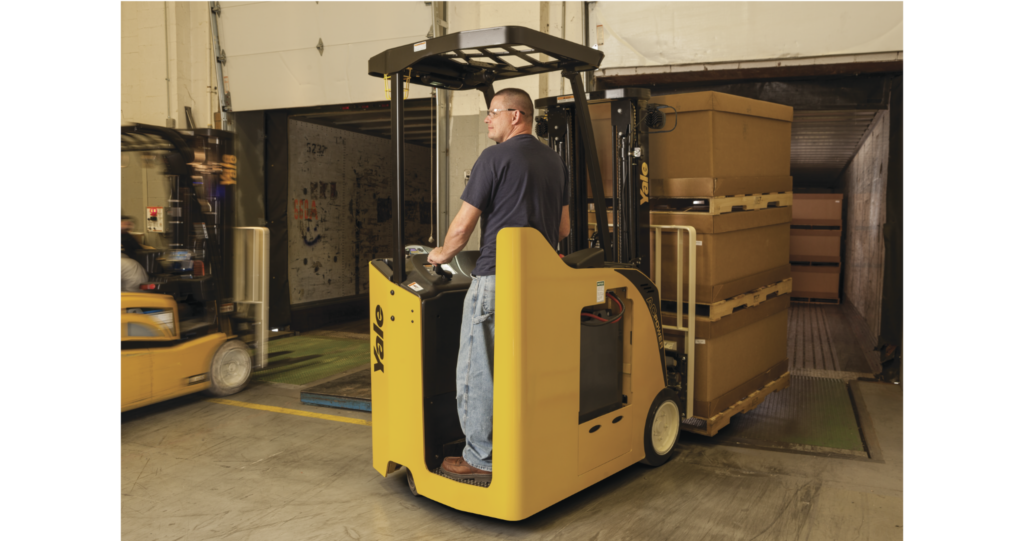 Class 1 Forklifts: Electric Counterbalanced