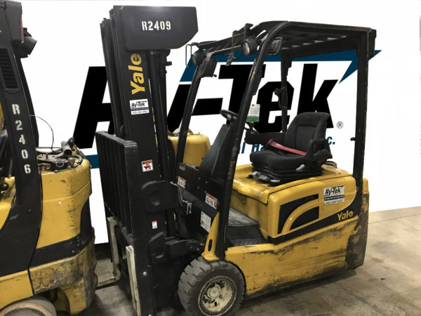 Yale 2012 Used ERP040VT Electric Quad Mast Forklift