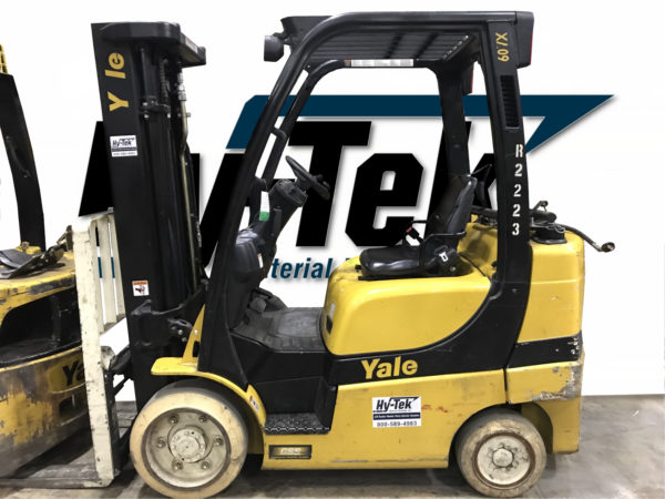 2013 Used Yale GLC060VX Cushion Forklift