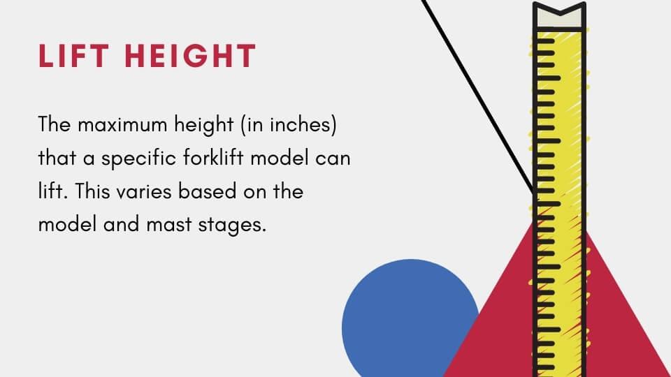 class 1 forklift lift height