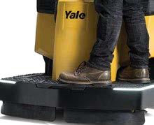 operator platform for the yale end rider pallet jack mpe060-080vh