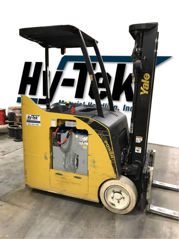 2012 Yale ESC035 3 Wheel Electric Forklift Stand Up