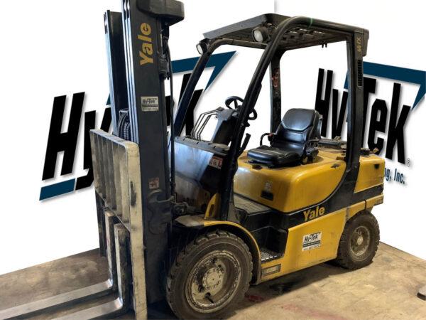 2014 Yale GLP060VX Class 5 Pneumatic Forklift