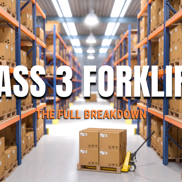 Class 3 Forklifts: The Full Breakdown