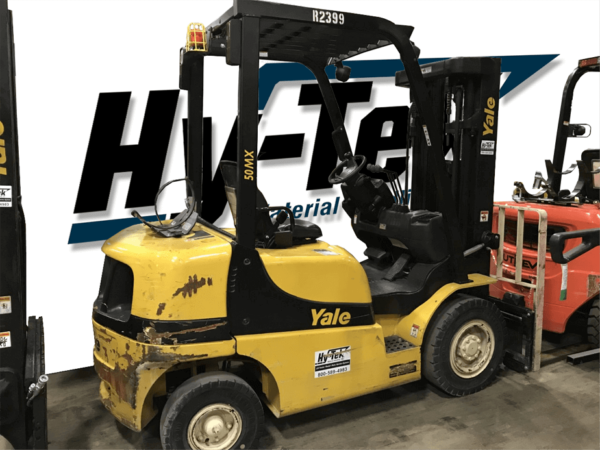 2017 Used GLP050MX Yale Pneumatic forklift