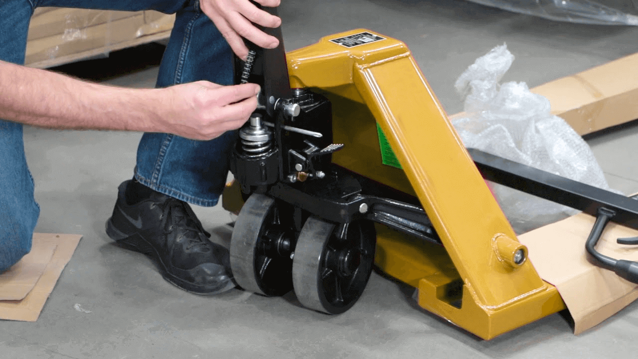 How to Fix a Pallet Jack Not Lifting