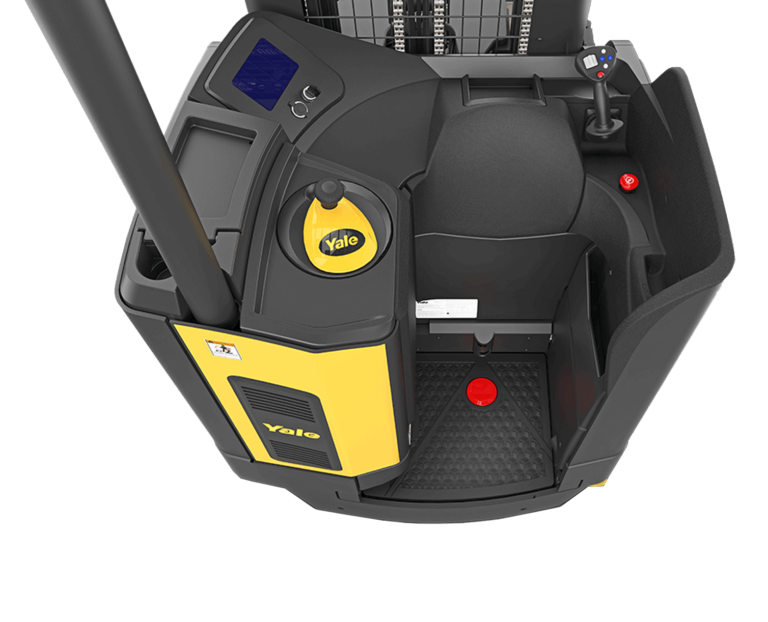operator compartment of the Yale 2020 Reach Truck NR/NDR-EC
