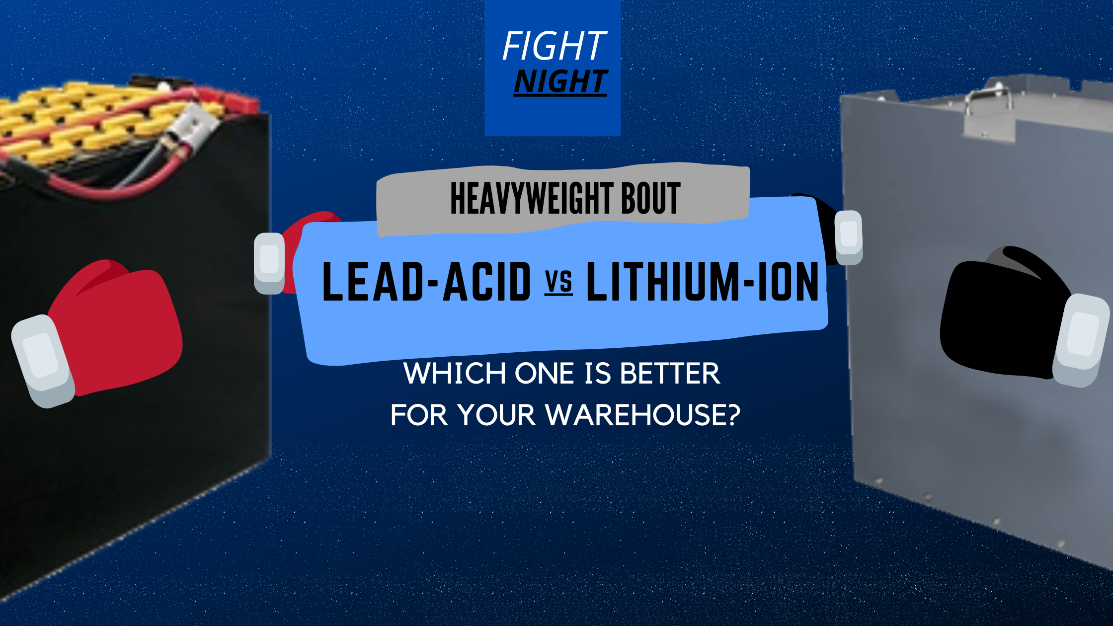 Read more about the article Lithium Ion vs Lead Acid Forklift Batteries: Which is Better for you?