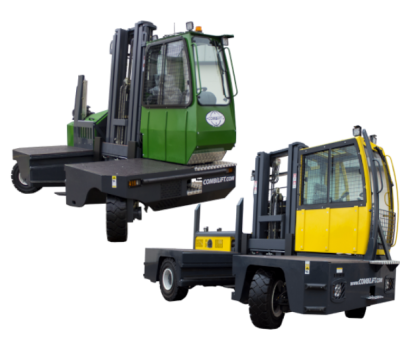 combilift sideloader forklifts: the c100004wsl and c9000sl